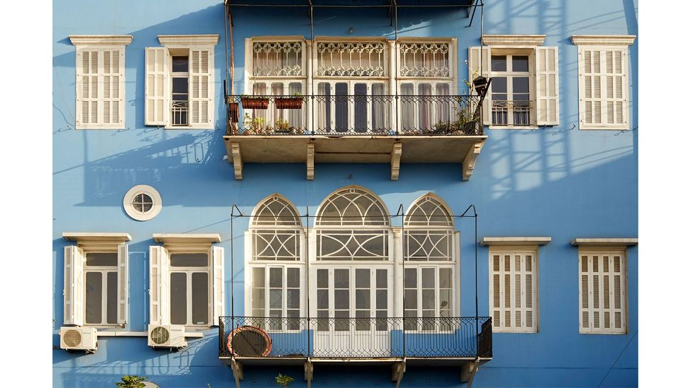 Joseph Khoury and Gabriela Cardozo's photo series Bouyout Beirut captures the beauty of the city's Ottoman and French mandate-era architecture (Credit: Joseph M Khoury)