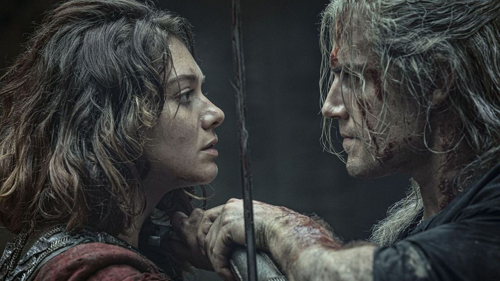 Netflix show The Witcher is among the productions that Lizzy Talbot has worked on, choreographing scenes that feature sex and other forms of intimacy (Credit: Alamy)