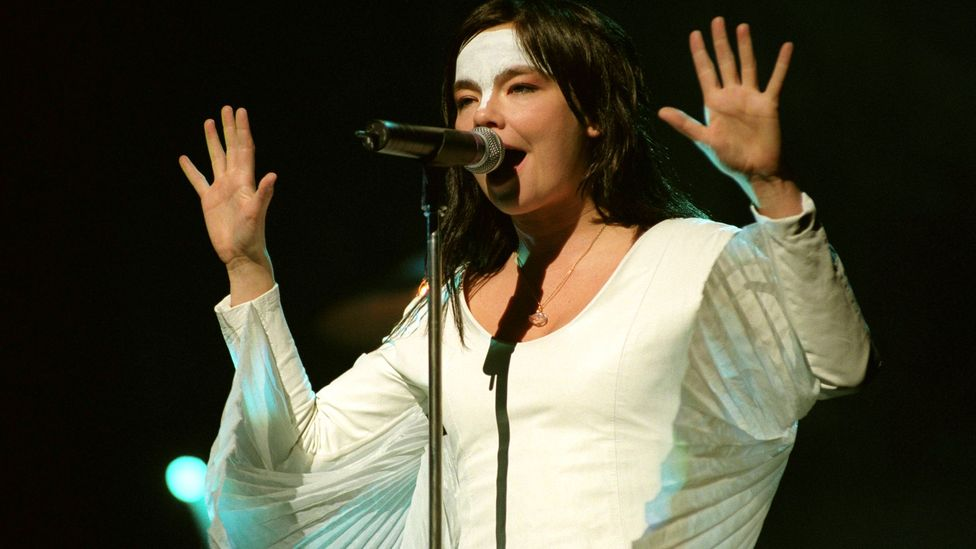 When she released Homogenic in 1997, Björk was an established star – and the critical raves for this extraordinary record only confirmed her status (Credit: Getty Images)