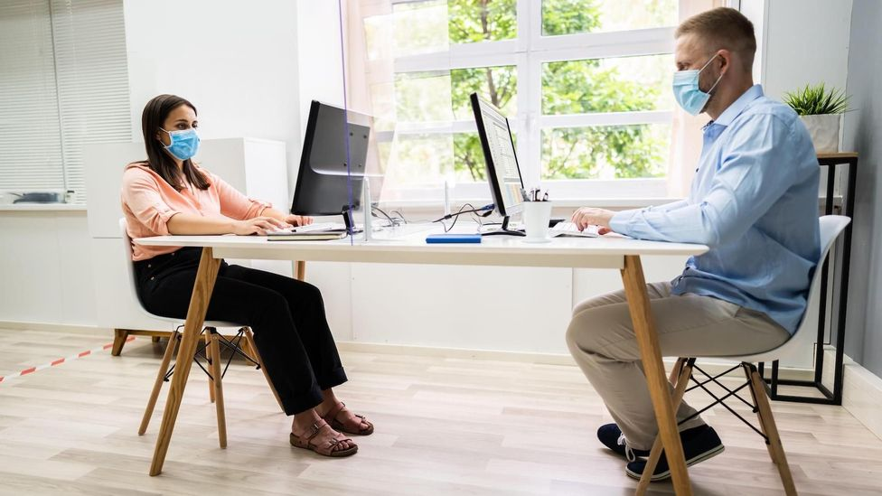 Under a hybrid model, a head office could have a disproportionate share of power, and office regulars will have the edge over home workers (Credit: Alamy)