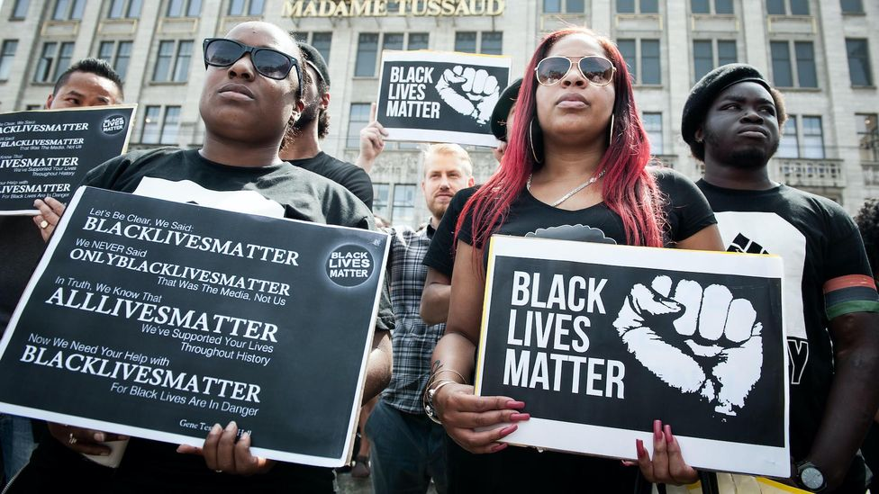 Black Lives Matter protests around the world have sparked many companies to quickly create diversity, equity and inclusion programmes (Credit: Alamy)