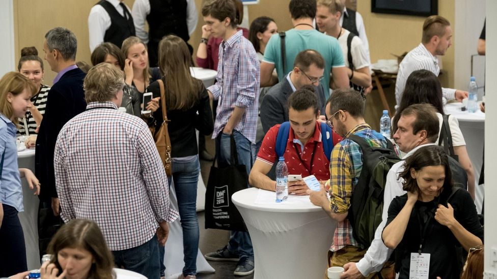 What the future of conferences could look like