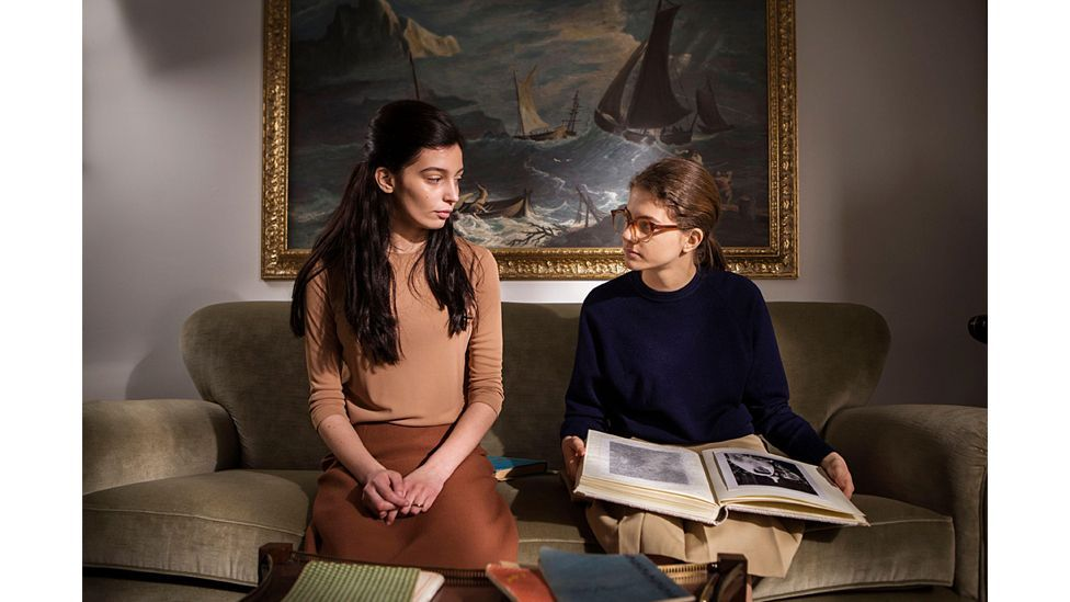 Elena and Lila are the central characters of Ferrante's quartet – season two of the TV series came out earlier this year (Credit: Alamy)