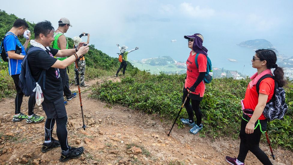 Although 40% of Hong Kong is made up of green spaces, accessability can be an issue for those living in the densely populated areas (Credit: Alamy)
