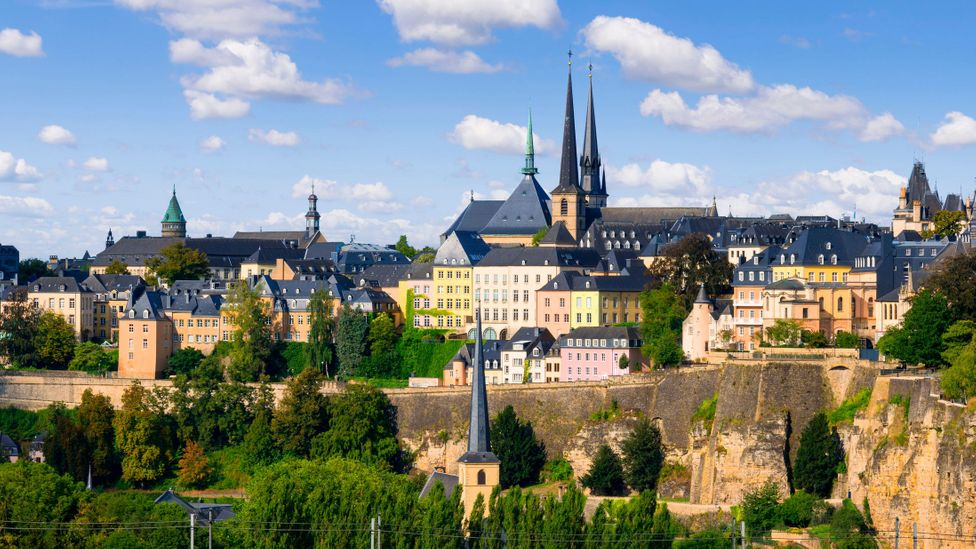 Luxembourg City was once one of Europe's greatest fortified sites due to its strategic position (Credit: Quebeet/Getty Images)