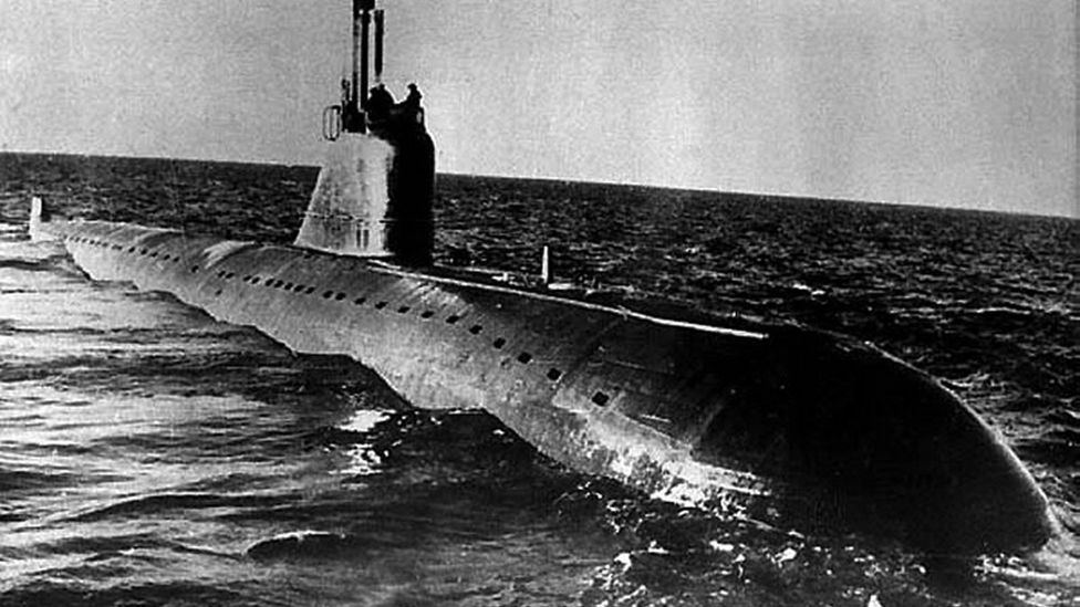 Retrieving a large nuclear vessel like the K-159, similar to this November-class submarine pictured, will take meticulous logistical planning and investment (Credit: Getty Images)