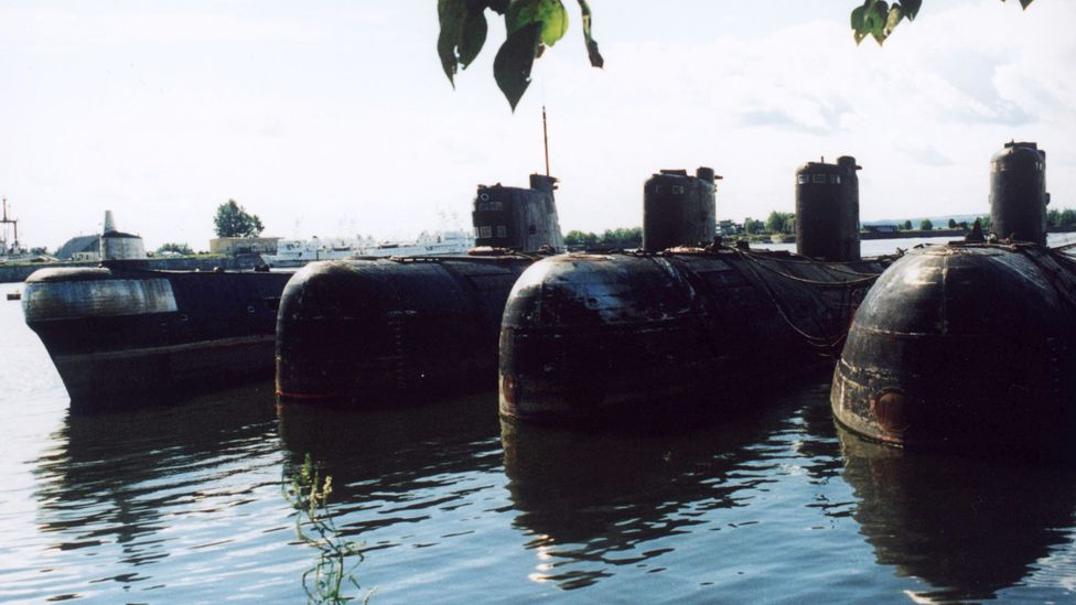 The K-159 is one of many legacy Soviet submarines still present in Arctic waters (Credit: Getty Images)