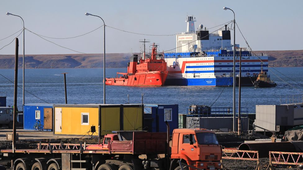 The Akademik Lomonosov is the world's first floating power plant (Credit: Getty Images)