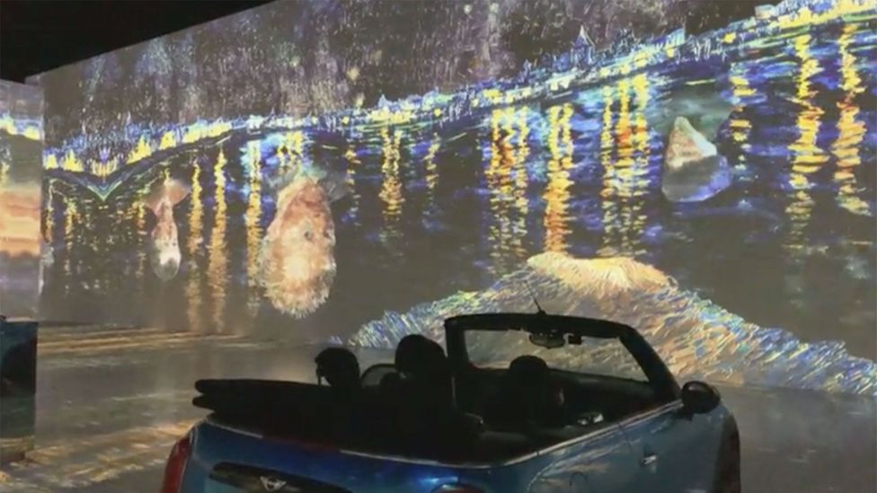 Housed in the building that formerly held the Toronto Star's printing presses, the Immersive Van Gogh exhibition projects the Dutch painter's works onto walls and floors