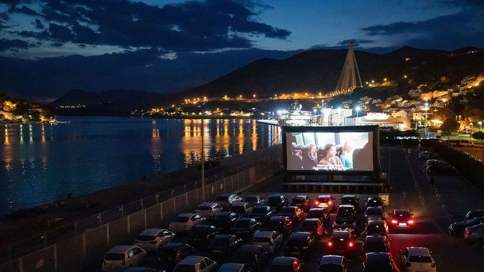 In May, films including Bonnie and Clyde and Rainy Day in New York were shown at a pop-up drive-in cinema at the Croatian Port of Gruz, the first of its kind in Dubrovnik