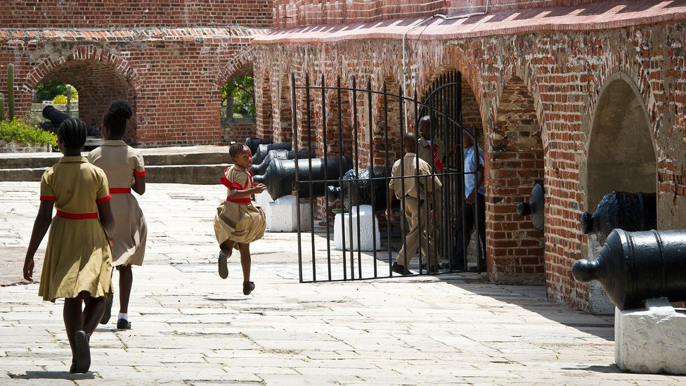 Visiting Port Royal is like a rite of passage for Jamaican children (Credit: Mladen Antonov/Getty Images)