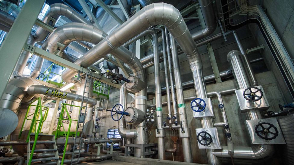 Sweden has well developed district heating infrastructure, which is more efficient than heating individual buildlings (Credit: Getty Images)