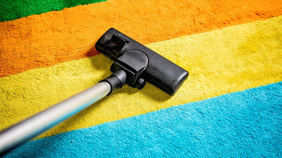 Vacuuming the floor can increase indoor air pollution unless suitable filters are used in the appliance (Credit: Getty Images)