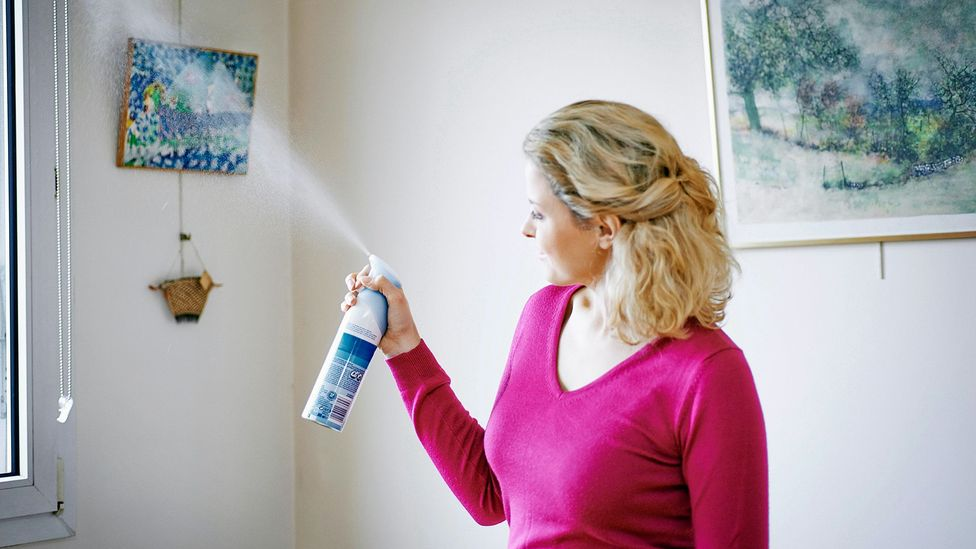 Air fresheners release volatile organic compounds that can react with other chemicals in the air (Credit: Alamy)