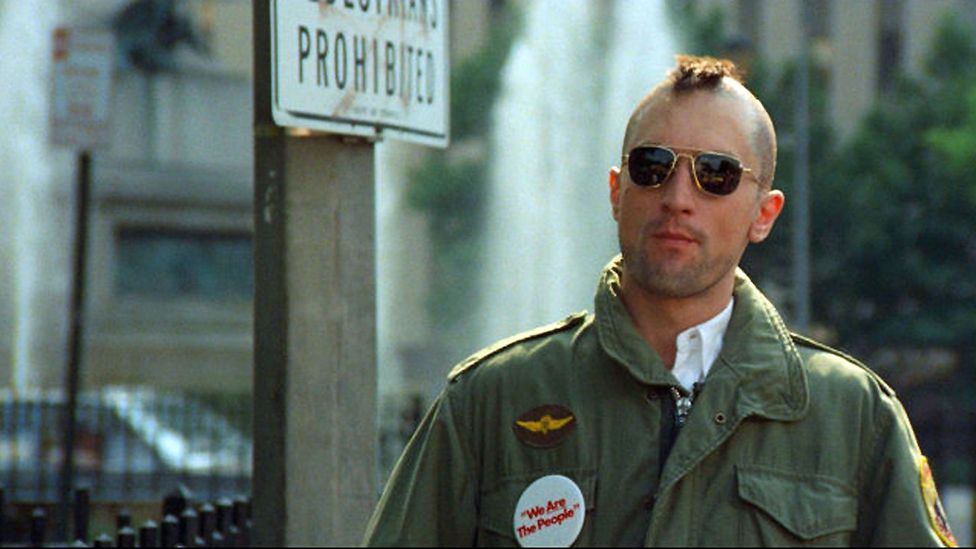 Taxi Driver's deranged Vietnam war veteran Travis Bickle is a truly alienated misfit who has never been able to be marketed as cool (Credit: Alamy)