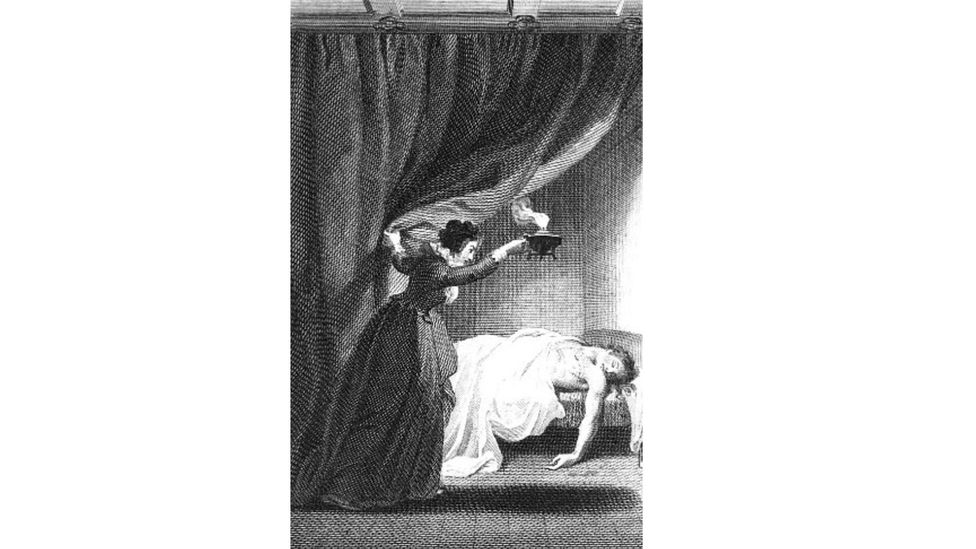 Women dominated Gothic fiction - Ann Radcliffe received a record-breaking advance for her novel The Mysteries of Udolpho (pictured) (Credit: Alamy)