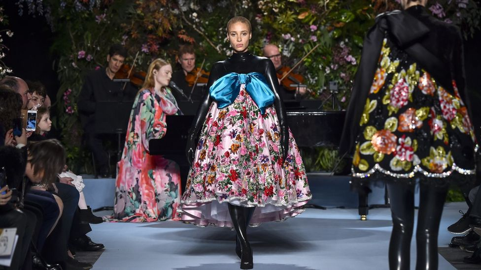 Designer Richard Quinn is fascinated by the purity of roses, and how that meaning can be subverted (Credit: Getty Images)