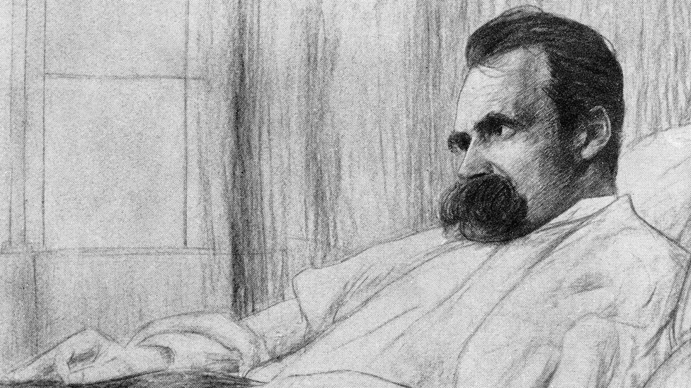 Nietzsche suffered from a variety of physical ailments, and some days he couldn't get out of bed (Credit: ullstein bild Dtl/Getty Images)