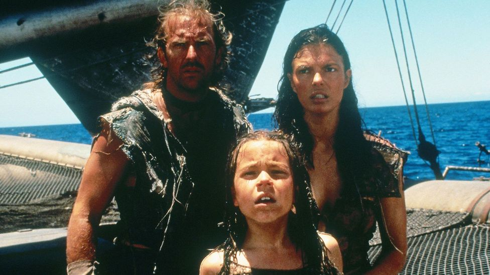 Waterworld has been criticised for its lack of diversity and oversimplified female representation (Credit: Alamy)