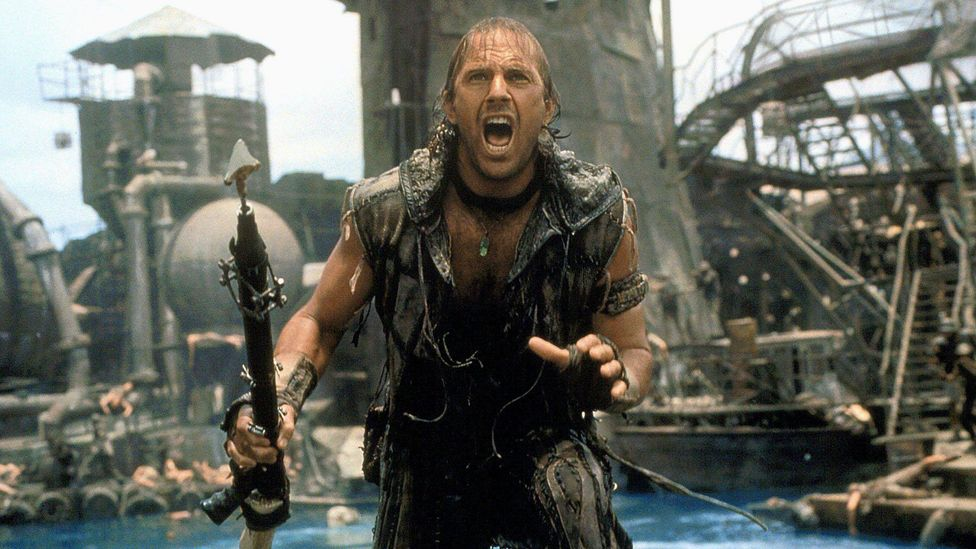 """According to Little White Lies, Waterworld is """"exceptional"""" in its world-building, """"creating an innovative aqueous ecosystem"""" in which ideas about global warming can be explored"""