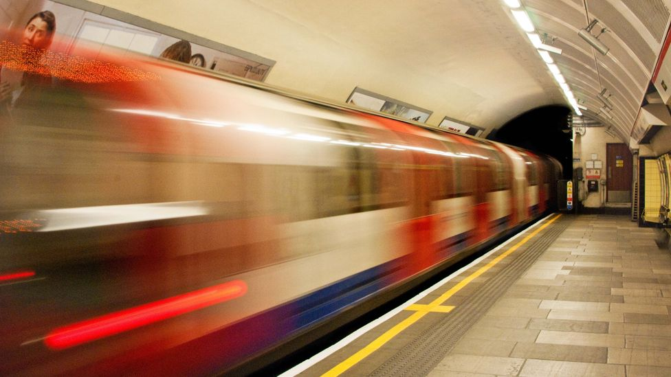 The famously stuffy London Underground is a useful source of heat for the homes above (Credit: Getty Images)