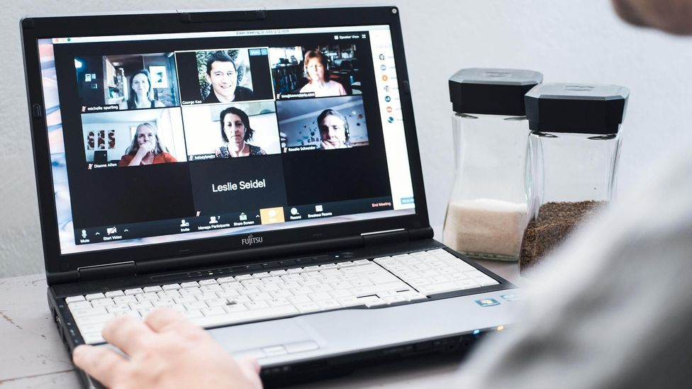 Video calls can impede access, not only by perpetuating or worsening standard barriers, but also creating new problems specifically for signed conversation (Credit: Alamy)