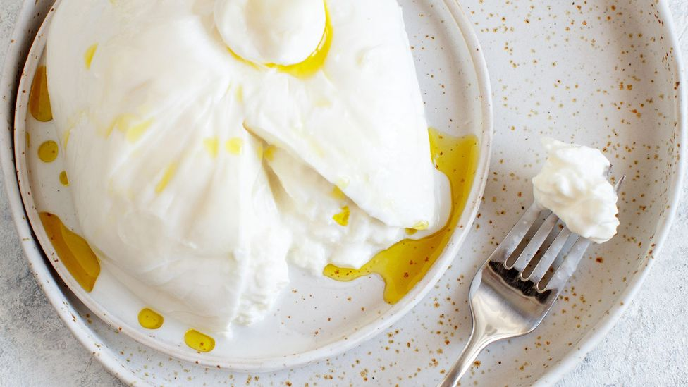 Burrata has become a global cheese, but it originated in Italy's Apulia region (Credit: Katrinshine/Alamy)