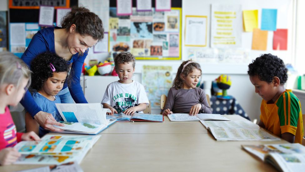 Denmark was the first country in Europe to reopen schools and daycare centres (Credit: Klaus Vedfelt/Getty Images)