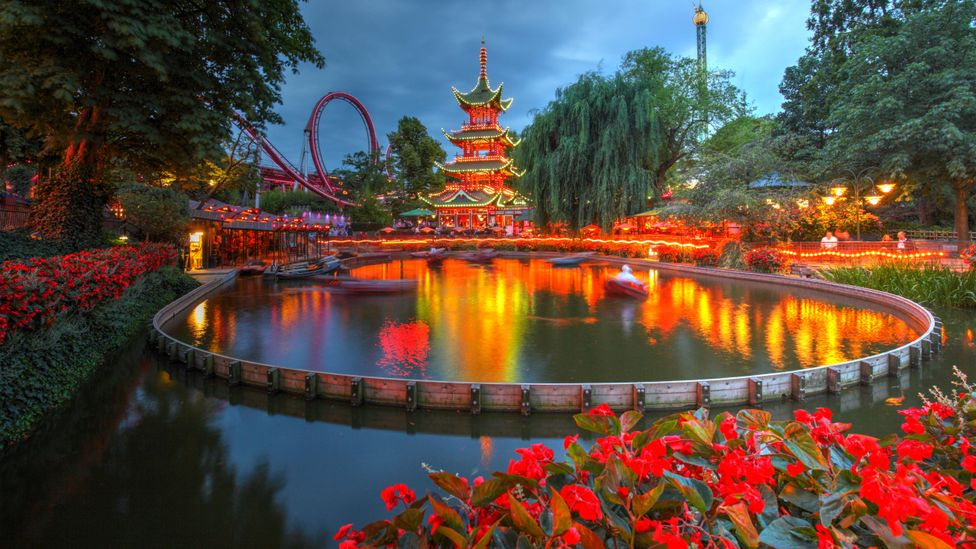 Amusement park Tivoli Gardens was turned into a temporary kindergarten during the pandemic (Credit: EmmePi Travel/Alamy)