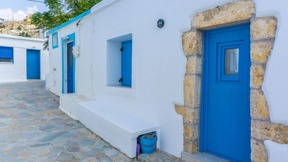 In 2019, the local Greek Orthodox church offered to pay people to move to the underpopulated island (Credit: Charalambos Andronos/Getty Images)