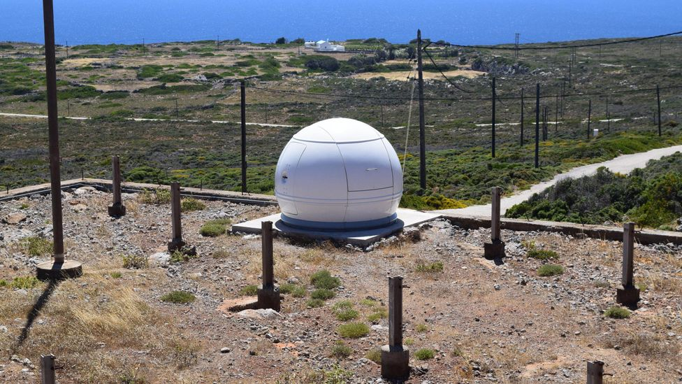 The Climate Change Observatory of Antikythera is located in Katsaneviana, about 4km south of Potamos (Credit: Stav Dimitropoulos)
