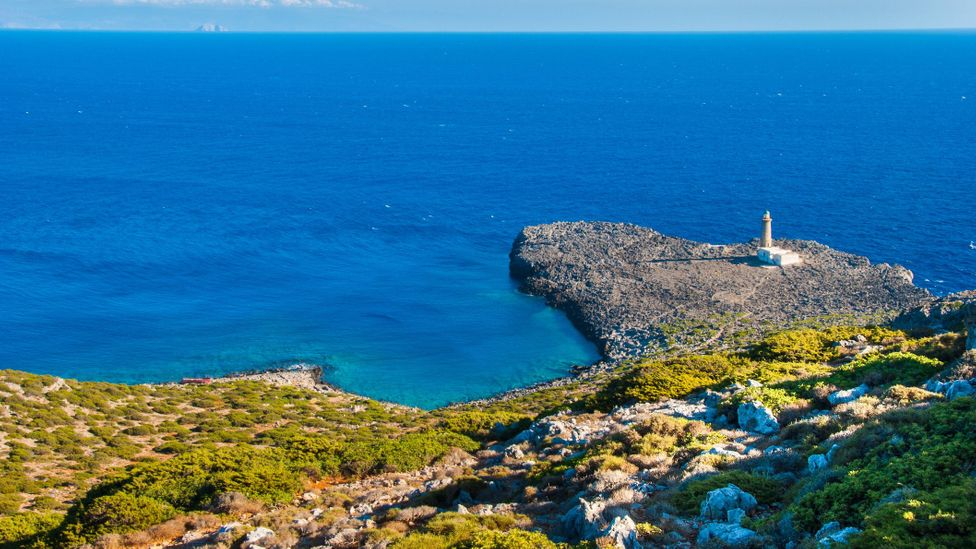 The island's location at the point where three seas meet makes it a perfect place to study climate change (Credit: Charalambos Andronos/Getty Images)