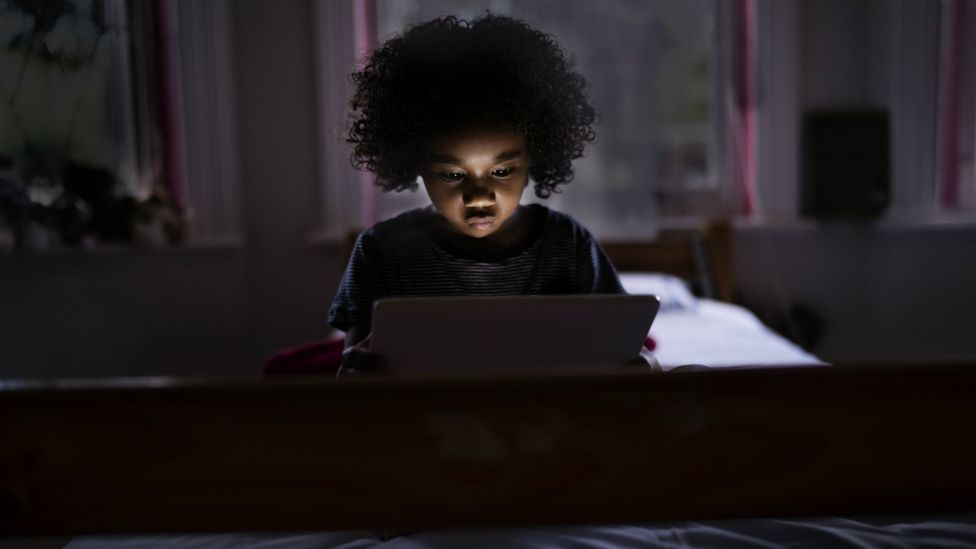 Interactive screen use on devices like tablets can be beneficial but there is also evidence that too much screen time can impact on sleep (Credit: Getty Images)