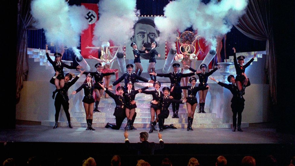 The Producers' show-within-a-show Springtime for Hitler remains perhaps the most famous example of 'Hitler comedy' (Credit: Alamy)