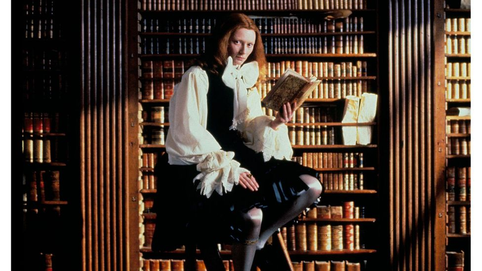 Orlando, the 1992 film based on Woolf's novel, is the story of a nobleman who becomes a woman (Credit: Alamy)