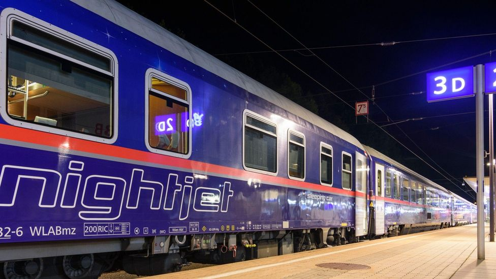 Night trains could potentially end up replacing some aviation routes, Charlene Rohr believes