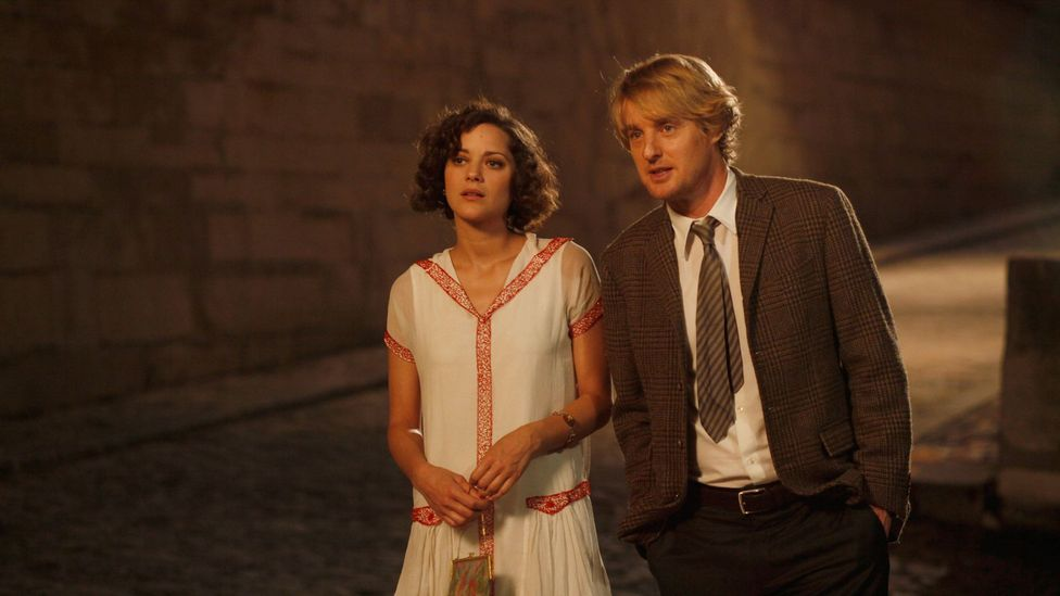 Woody Allen's time-travelling 2011 film Midnight in Paris knowingly riffed on the anachronistic vision of Paris set in the cultural imagination (Credit: Alamy)