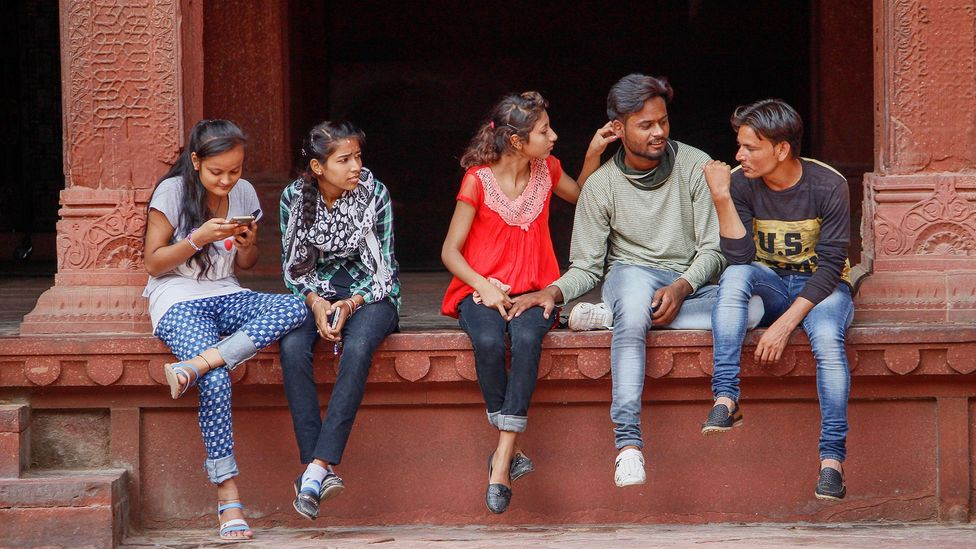 India's next generation of young workers have different priorities to their parents (Credit: Alamy)