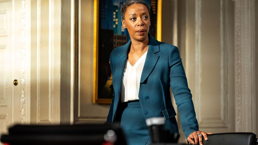 A fine supporting cast includes Noma Dumezweni as Haley, a refreshingly direct, truth-telling lawyer (Credit: HBO)