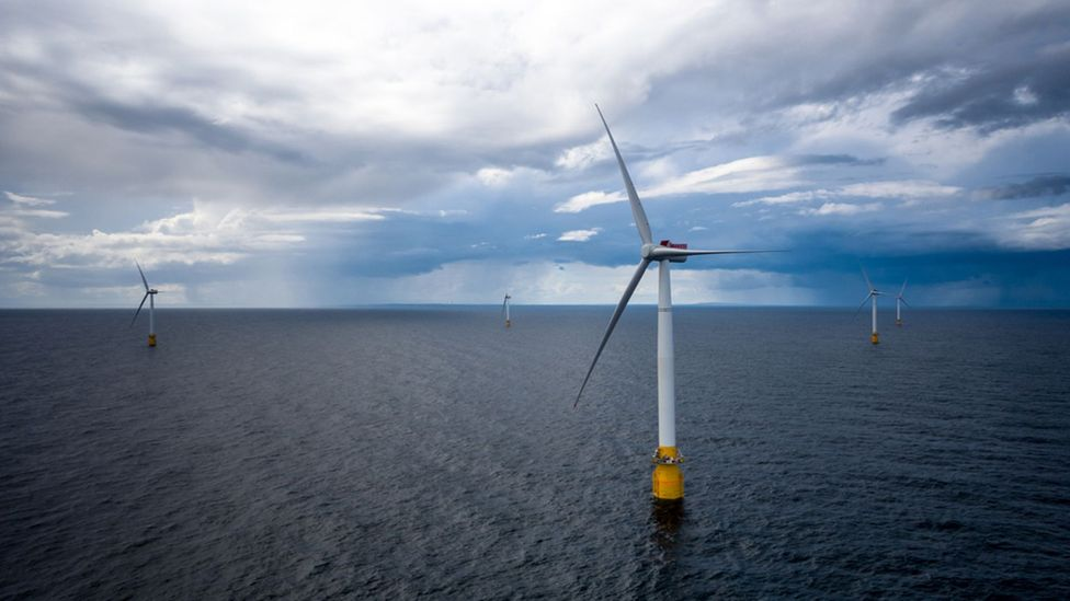 It is relatively easy to produce a half-dozen of these turbines - but the fields of many hundreds needed is an engineering challenge (Credit: Oyvind Gravas)