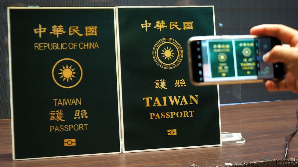 The Taiwanese passport was changed in September 2020 to prevent Taiwanese people from being mistaken as Chinese citizens while travelling abroad (Credit: EPA)