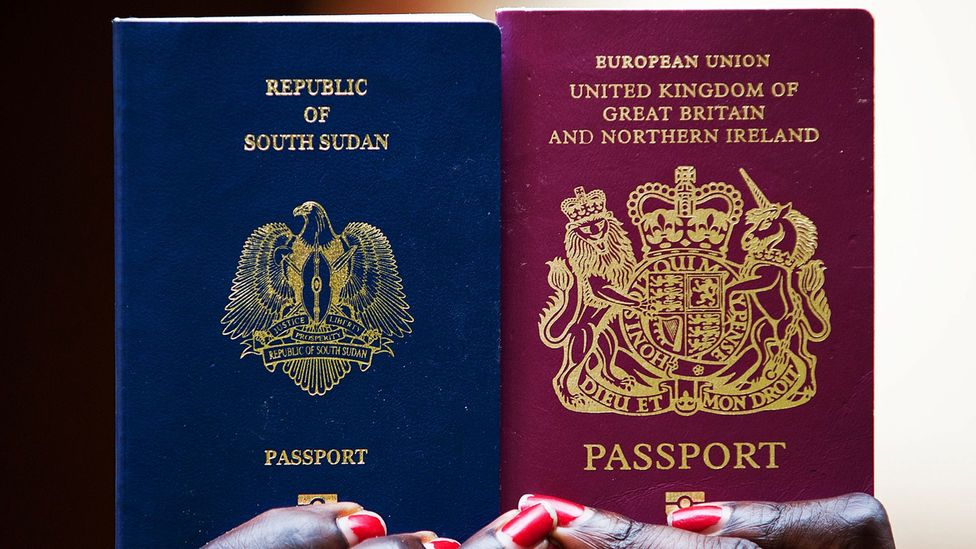 Every country's passport design demonstrates unique national identity (Credit: Getty Images)