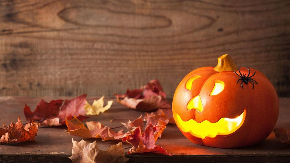 File image of a carved Halloween pumpkin