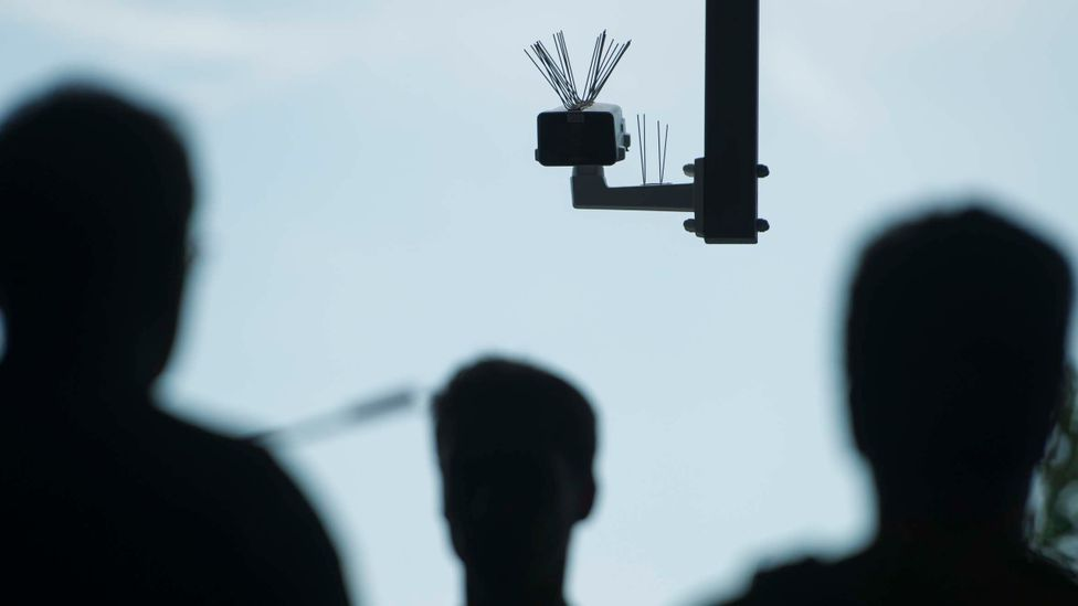 A benevolent government that installs surveillance cameras everywhere could make it easier for a totalitarian one to rule in the future (Credit: Steffi Loos/Getty Images)