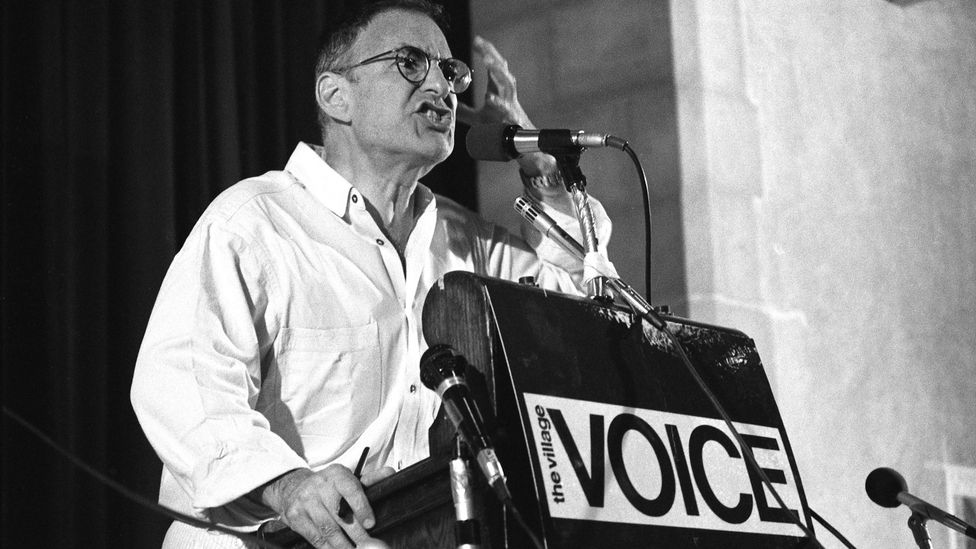 The Normal Heart writer Larry Kramer was driven to activism by the Aids crisis, and helped to set up the US's first Aids support clinic (Credit: Getty Images)