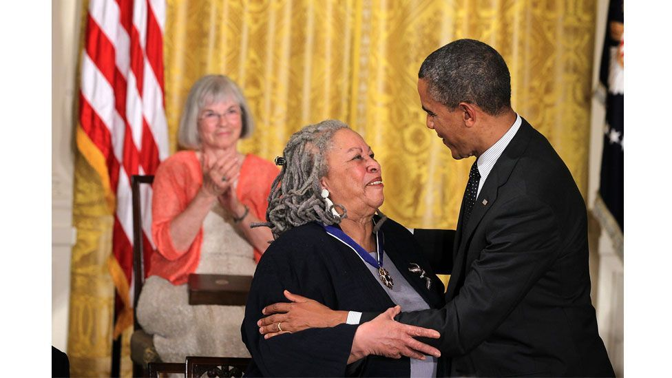 In 2012, Morrison was awarded a Presidential Medal of Freedom (Credit: Getty Images)