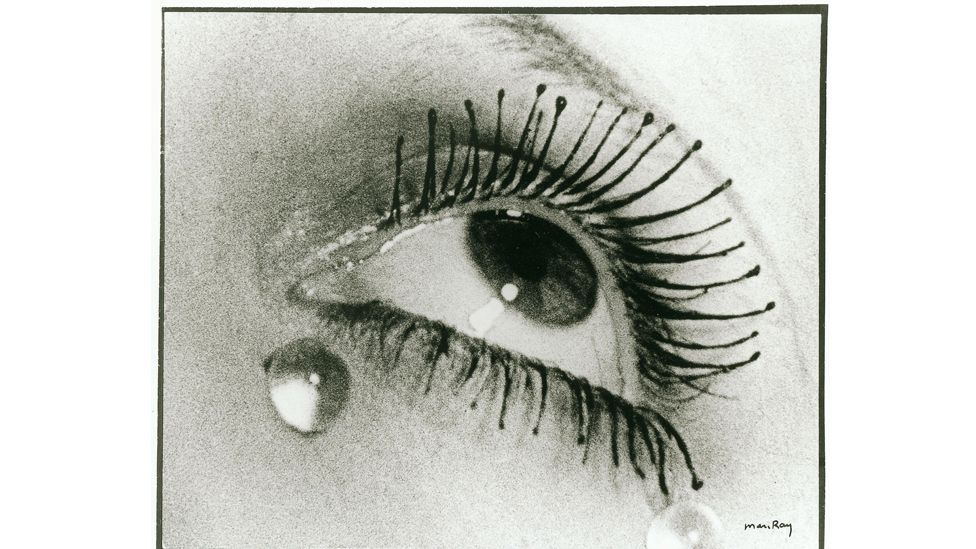 Man Ray's iconic photograph Larmes (Tears) appeared as an advertisement for mascara in 1935 (Credit: Alamy)