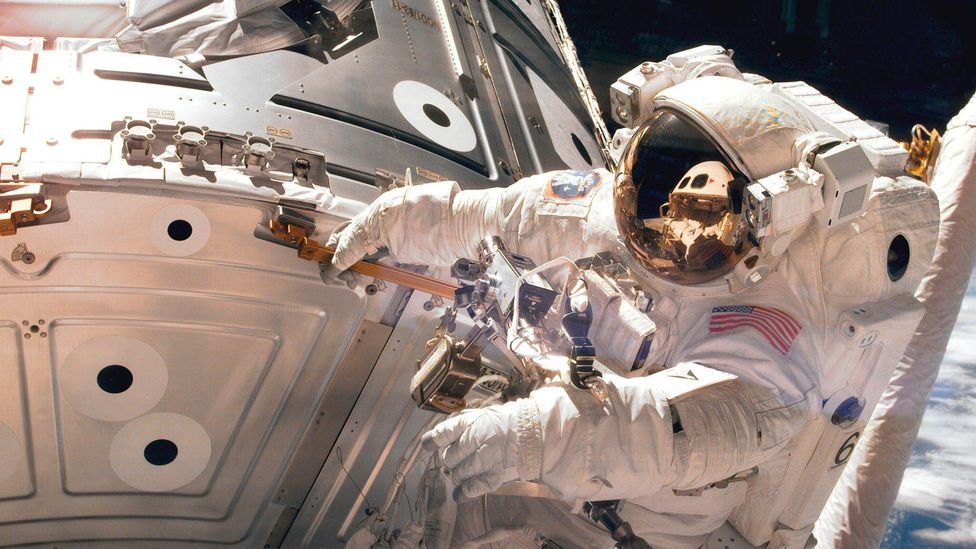 Astronaut on spacewalk (Credit: Nasa/Getty Images)