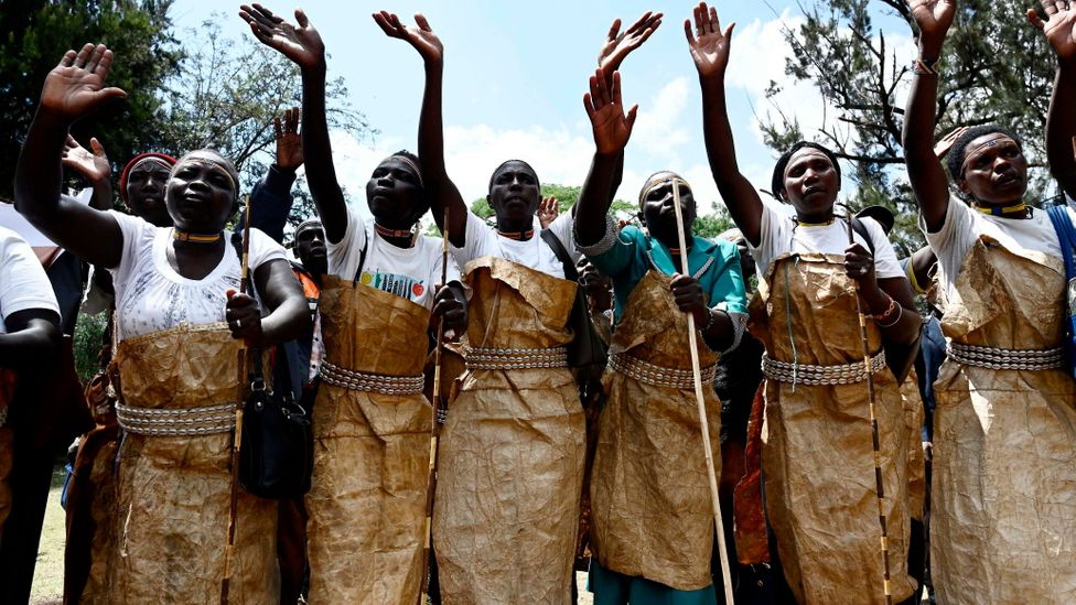 The Sengwer community of the Embobut forest have protested their evictions, while international bodies have condemned human rights abuses in the forest (Credit: Getty Images)