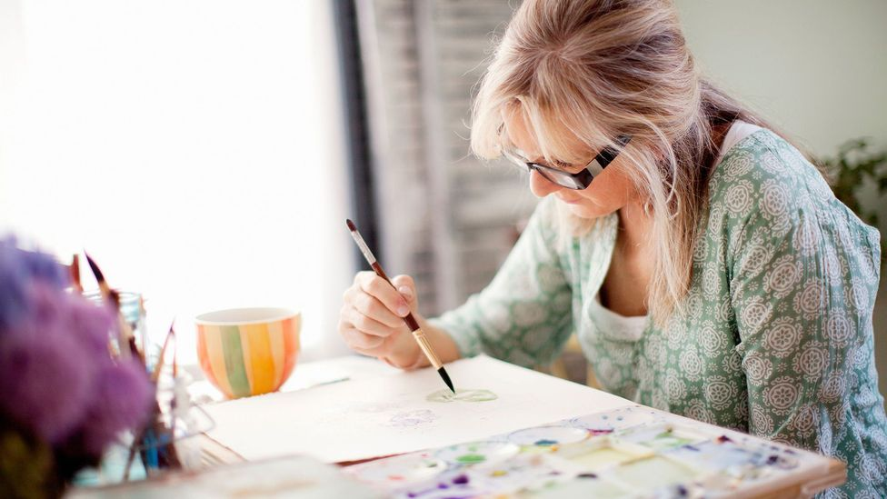 Experts suggest that to deal with uncertainty, lose yourself in activities that require all your concentration, like painting or playing with puzzles